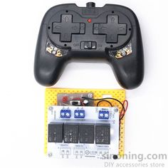 4CH high-power remote control relay 2.4G 5-20v toy DIY tank car ship robot 5A SNRM101