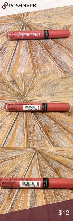 NWT Victoria's Secret Lip Lacquer in Bitten (Pink) NWT Victoria's Secret Liquid Color Intense Lip Lacquer in Bitten (Pale pink). Brand new and unopened. Size 3.1 g/.11 oz. Victoria's Secret Makeup Lip Balm & Gloss