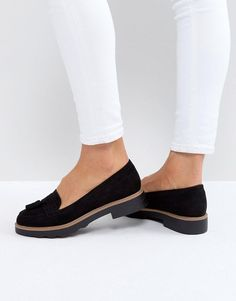 New Look Chunky Rand Loafer - Black