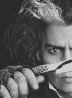 Johnny Depp. Sweeney Todd The Demon Barber Of Fleet Street (2007) - #SweeneyTodd