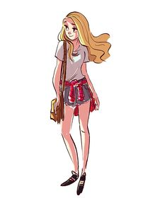 Kind of how I imagine Annabeth