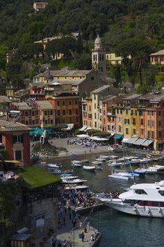 Portofino On the Italian Riviera In Genoa province, Liguria Italy