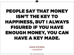 Inspirational Quotes | Joan Rivers, comedian
