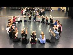 TTU Jazz Classes: body percussion by Kris Olson, music by Flynn Cohen - YouTube