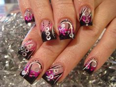 Nail Art Design Pictures 2 | much fun with the nail art this week. 1 more week until the Vegas nail ...