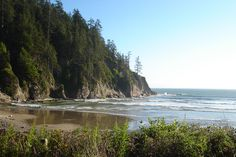 Short Sands Beach, Oregon