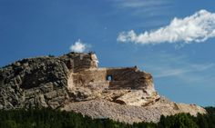ultimate outdoor sculpture: Sitting Bull monument in the Black Hills.