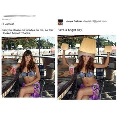 Photoshop is the industry standard and is used by creative professionals all over the world. Many people seek out their help to retouch some photos and these 25 funny Photoshop trolls responded to their Photoshop requests in the most hilarious way! Funny Photoshop Fails, Funny Photoshop Pictures, Photoshop Pics, Funny Fails, Funny Jokes, Funny Pictures, Hilarious Photos, Creative Photoshop, Stupid Memes