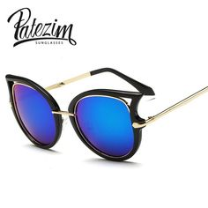 Check it on our site 2017 New Fashion Women Cat Eye Sunglasses Brand Designer Women's Glasses Goggle Shades Eyewear UV400 Oculos De Sol Feminino just only $5.30 with free shipping worldwide  #womanaccessories Plese click on picture to see our special price for you