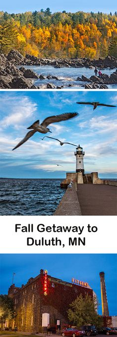 September and October bring fire-hued foliage, migrating birds and avid outdoors-lovers to Duluth, a jewel of a city along Minnesota's Lake Superior shore. Here's how to make the most of a busy-season visit. Minnesota Tourism, Duluth Minnesota, Michigan, Places To Travel, Places To See, Couple Activities, Great Lakes Region, Lake Superior, Adventure Is Out There