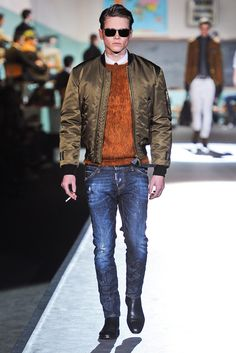 Dsquared2 Fall 2012 Menswear Fashion Show