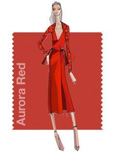 Selbstvertrauen und Sinnlichkeit: Aurora Red spiegelt die pure Weiblichkeit…