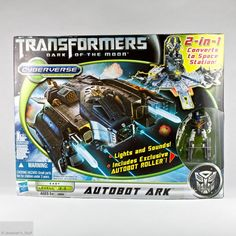 Transformers Dark of the Moon Cyberverse Autobot Ark Spaceship Exclusive Roller #Hasbro