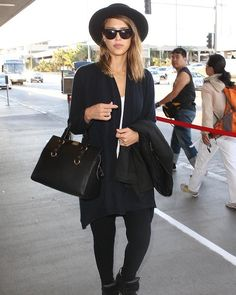 Actress Jessica Alba is seen on October 6, 2013 in Los Angeles, California.
