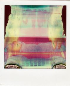 Ruined Polaroids: photographs and text by William Miller