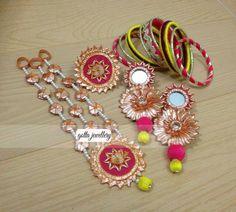 Gota Jewelry For Mehndi 2015 | Bridal Mehndi Jewelry 2015