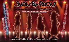 La franquicia Show By Rock!! tendrá adaptación a musical de teatro en Febrero del 2016.