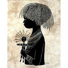 @Overstock.com.com - 'Maasai Child' Heidi Lange Screen Print (Kenya) - This piece of African art by Heidi Lange is screen printed by hand on earthtone tie-dyed cotton in Kenya. The art depicts the life and the people of Kenya.  http://www.overstock.com/Worldstock-Fair-Trade/Maasai-Child-Heidi-Lange-Screen-Print-Kenya/6788020/product.html?CID=214117 $37.49