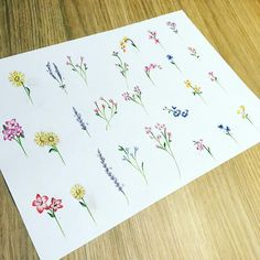 Mother Daughter Tattoos, Tattoos For Daughters, Birth Flowers, Tiny Tattoo, Body Art Tattoos, Flower Art, Piercings, Art Ideas, Creativity