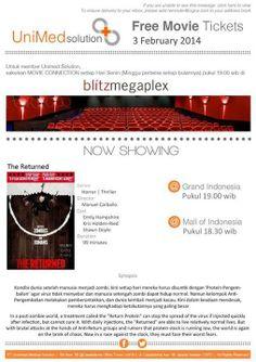 Blitz Free movie ticket for Cigna EaziCare card holder