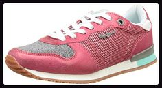 Pepe Jeans London Damen Gable New Caviar Sneakers, Rot (Poster), 36 EU - Sneakers für frauen (*Partner-Link)