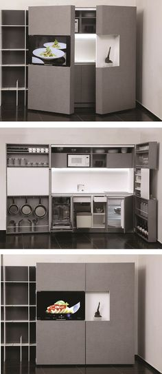 Pop-up #kitchen PIA by Dizzconcept by Inkea