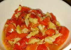 Bacalao con pimiento rojo (Esgarraet valenciano)