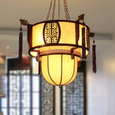 Chinese style pendant light classic lamps antique lanterns wood lamp living room lights restaurant lamp study light restaurant
