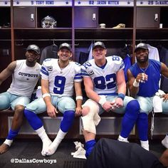 Photo Gallery: Check out behind-the-scenes photos from the Cowboys locker room after the team clinched the NFC East and a playoff berth. http://oak.ctx.ly/r/28g5c