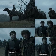 Ramsay and Rickon Game of Thrones 6x08