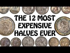 Some half dollars are worth fifty five cents, and other half dollars are worth hundreds of thousands of dollars. I went and compiled a list of the 12 most ex. Old Coins Value, Old Coins Worth Money, Coin Worth, Coin Values, Most Expensive, Half Dollar, Coin Collecting, Thing 1 Thing 2, Notes