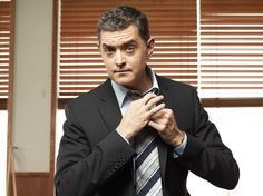"Timothy Omundson as Carlton Lassiter in the TV show, ""Psych."""