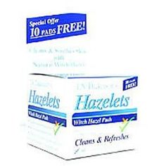 T.N. Dickinson: Witch Hazel Cleansing ct, 60 ct (5 pack). Category: Ointments & Medicinal Creams.