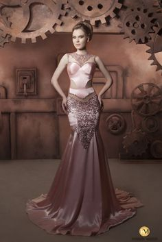 Gorgeous Hassan Mazeh Couture Summer 2014 Evening Dresses - Be Modish - Be Modish