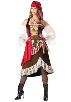 Famous Saloon Girls | Home Halloween Costume Ideas Historical Costumes Pirate Costumes Adult ...