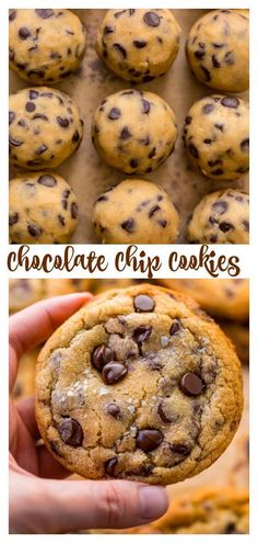 Everyday Chocolate Chip Cookies are soft, chewy, and so delicious! Made with brown butter, they're extra flavorful. Kids and adults love these chewy chocolate chip cookies! Best Chocolate Chip Cookies Recipe, Peanut Butter Cookie Recipe, Sugar Cookies Recipe, Chocolate Recipes, Chocolate Chocolate, Chocolate Chip Biscuits, Bakers Chocolate, Ginger Cookies, Easy Cheesecake Recipes