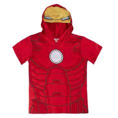 Camiseta M.Corta con Capucha, Iron Man