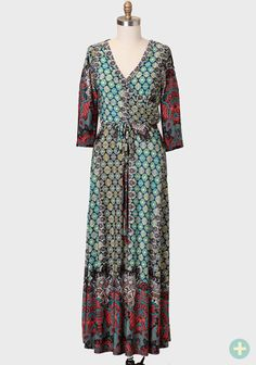 Truth Be Told Curvy Plus Maxi Dress at #Ruche @Ruche