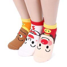 Funny Anpan Man pack of 3pairs teenagers school japanese animation