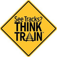 Operation Lifesaver's new public safety campaign - See Tracks? Think Train! More at: