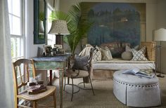 FABULOUS den by Lisa Gabrielson Design. Love everything in it!