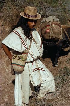 Colombian Men, Indigenous Tribes, Santa Marta, Male Man, Sierra Nevada, People Of The World, Traditional Dresses, Pop Culture, Stock Photos