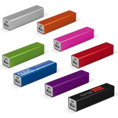 Megatron Power Bank - 2200mAh power bank in a smart aluminium finish. It is ideal for charging mobile phones, tablets, cameras, GPS, Bluetooth speakers and headphones etc. #flagsdisplaysAU