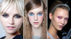 Runway Beauty Trend: Undereye Liner- bright or black, it looks sexy and playful, intriguing and magical