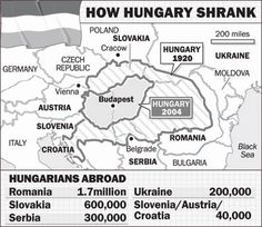 The Treaty of Trianon: A Hungarian and Central European Tragedy Treaty Of Versailles, Hungarian Embroidery, Austro Hungarian, Historical Maps, Budapest Hungary, My Heritage, Cartography, Ancestry, Family History