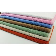 """These are really great bath mats; 20x30"""" -- 950 gsm, step on them and feel the softness.  These sets are not one or two washing products. All are produced in Turkey with the fine quality long stable Turkish yarn. This design fits into every bathroom and always looks new."""