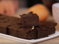 Découvrez la recette Brownie vegan aux haricots rouges sur cuisineactuelle.fr.