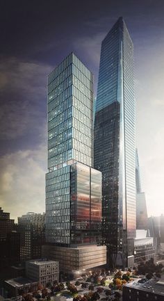 Future NYC - New York City - 50 Hudson Yards | 326m | 1,068 ft | 62 fl