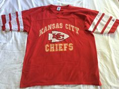 #vintage #90s XL #KansasCity #kc #CHIEFS #Throwback #Jersey by VintageShat