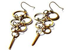 retaining ring earrings